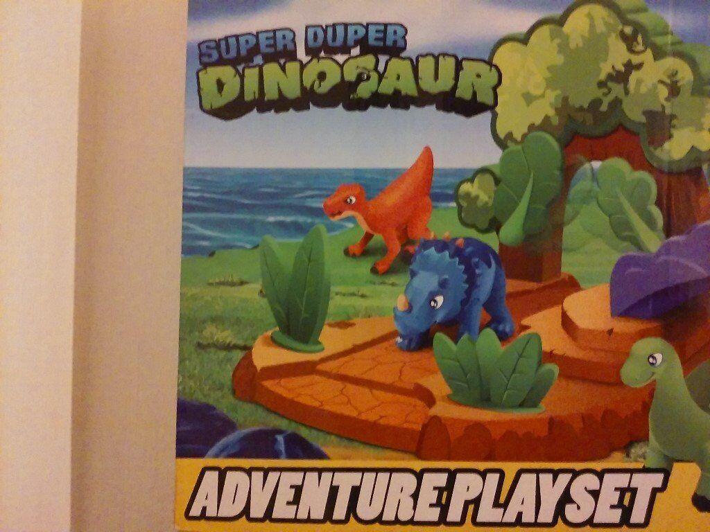 Supa Dupa Dinosaur Adventure Playset 50% off