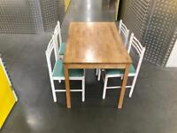 Wooden Table and chairs, Free delivery