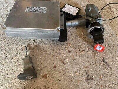 MERCEDES SLK R170 ENGINE ECU IGNITION BARREL DOOR LOCK KEY SET A0235458332