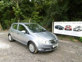 Vauxhall Corsa Life In Grey, 2009 09 reg, Only One Former Owner, Last Owner From 2015, MOT Aug 2019