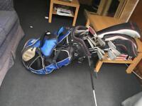 Wilson deep red fat shaft golf full set
