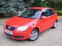 VOLKSWAGEN POLO 1.2 S -- FULL SERVICE HISTORY -- 2 LADY OWNERS