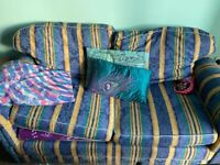 Little but comfortable sofa bed perfect for a small living/bedroom