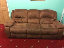 3 seat recliner sofa