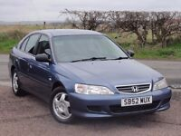 Honda Accord 1.8i VTEC S Automatic, 86k Miles, 1 Year MOT (No Advisories), 2003 / 52 Reg