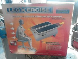 Legxercise machine.