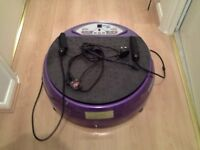 VibraPower Disc - Model #. BW-5040 with resistance bands - PURPLE, Excellent Condition