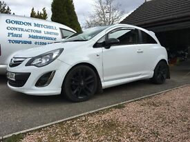 Limited edition corsa 1.2 VERY LOW MIlES
