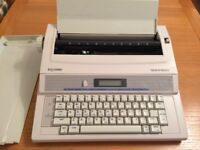 Silverreed electronic typewriter EX133MD in box