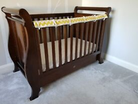 Boori Sleight cot bed 3 in 1 with sliding storage drawer, .