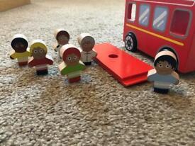 Wooden Toy Bus John Lewis