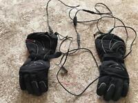 Klan Heated winter bike gloves