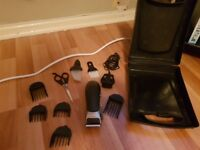 Remmington cord/cordless clipper kit