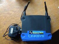 Linksys Wireless-G Broadband Router WRT54G - wireless router - 802.11b/g