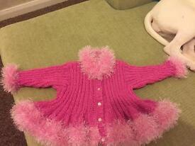 Hand Made Baby cardigan