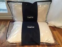 2 tempur cloud pillows