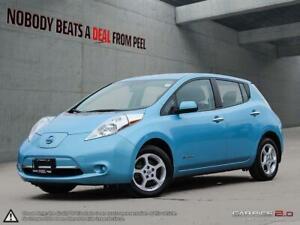 2015 Nissan Leaf SV Navigation, Dual Charge Ports, Inc Winters E