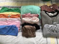 Ladies clothes bundle - size 10 includes jumpers