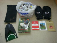 Golf set includes