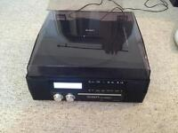 For Sale - ION CD Direct Digital Turntable with Built-In CD Recorder and Speakers