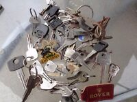 job lot old car keys ford vauxhall and others other makes