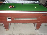 pub style pool table 6x3