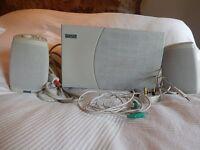 Altec Lansing computer speakers/subwoofer