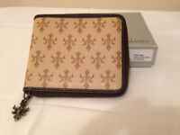 Cassendre French Man's Leather Wallet