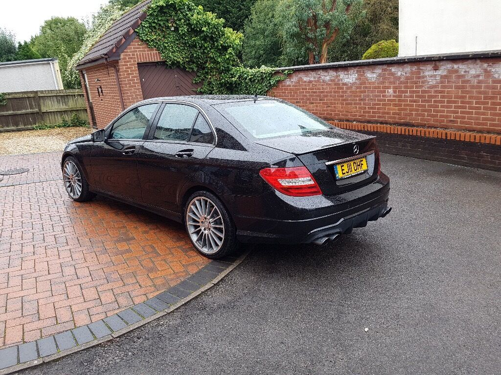 2011 mercedes c class c180 c63 amg spec full mercedes main dealer service history 74000 miles. Black Bedroom Furniture Sets. Home Design Ideas
