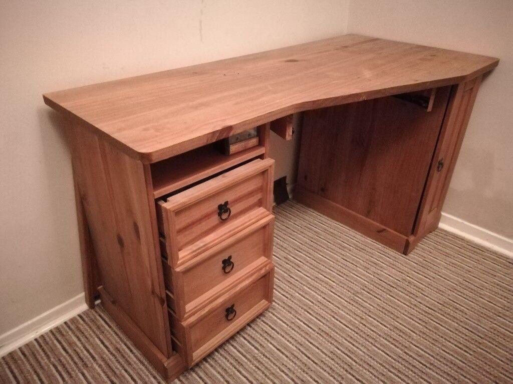 Oak Work Desk