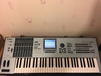 Yamaha motif xs6 with extras