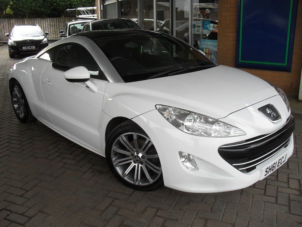 peugeot rcz 1 6 thp sport coupe white with black roof in kirkintilloch glasgow gumtree. Black Bedroom Furniture Sets. Home Design Ideas
