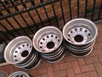 Ford Transit mk8 wheels only ever been used once