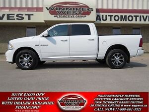2010 Dodge Ram 1500 SPORT CREW 4X4, LEATHER,ROOF,FLAWLESS LOCAL