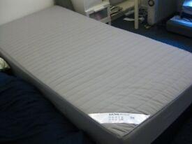 Ikea sultan hogbo single mattress. Can deliver