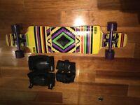 Riviera Longboard Complete Heta Drop Through Longboard 2015 - LIKE NEWWW !!!!! - Barely Used