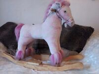 *****PINK ROCKING HORSE FOR SALE *****