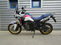 Honda DCT Africa Twin - Only 1273 miles!