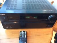 Onkyo TX-NR616 AV receiver great condition in box with all extras