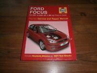 Haynes Service and Repair Manual (Ford Focus)