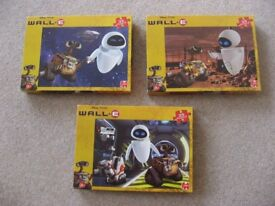 Disney Wall.E 35 Piece Jigsaw Puzzles (x 3)