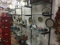 shop shelves glass