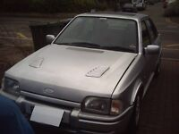 1989 Ford Escort RS Turbo recreation MoT'd lowered ideal track day