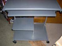 Metal Computer Desk & Chair