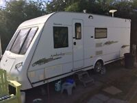 ELDDIS ODYSSEY 540 2007/8 SPECIAL EDITION WITH MOVERS/FULL STARTER KIT AS BEING SOLD DUE TO ILLNESS