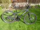 "Gents Apollo Xrated Front suspension Mountain Bike,26"" Black Alloy wheels 14""Frame, 18 shimano gears"