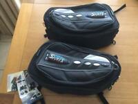 Motorcycle saddle bags (unused)