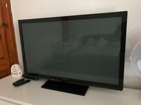 "Panasonic 42"" HDTV plasma excellent condition and working order TX-P42X60B"