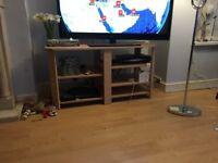 Beech 5 shelf TV stand - bargain £30
