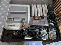 SNES console bundle